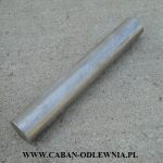 Cast grey iron rod with 75mm diameter and 500mm long
