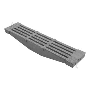 Cast iron beam grates 900mm - manufacturer