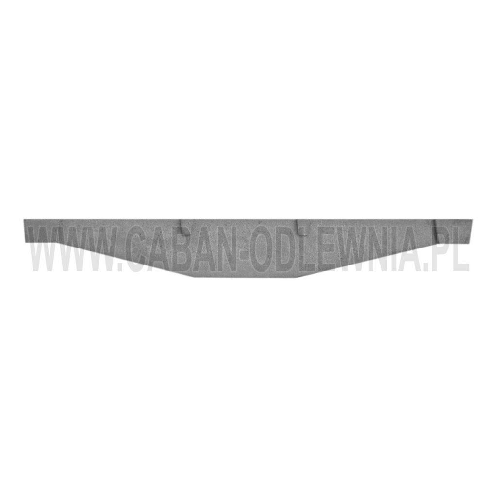 Cast iron furnace grates 90cm length