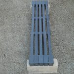 Cast iron grate bar 900mm length