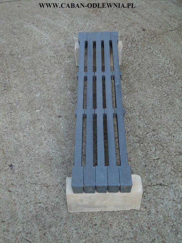 Cast iron grate bar 900mm length