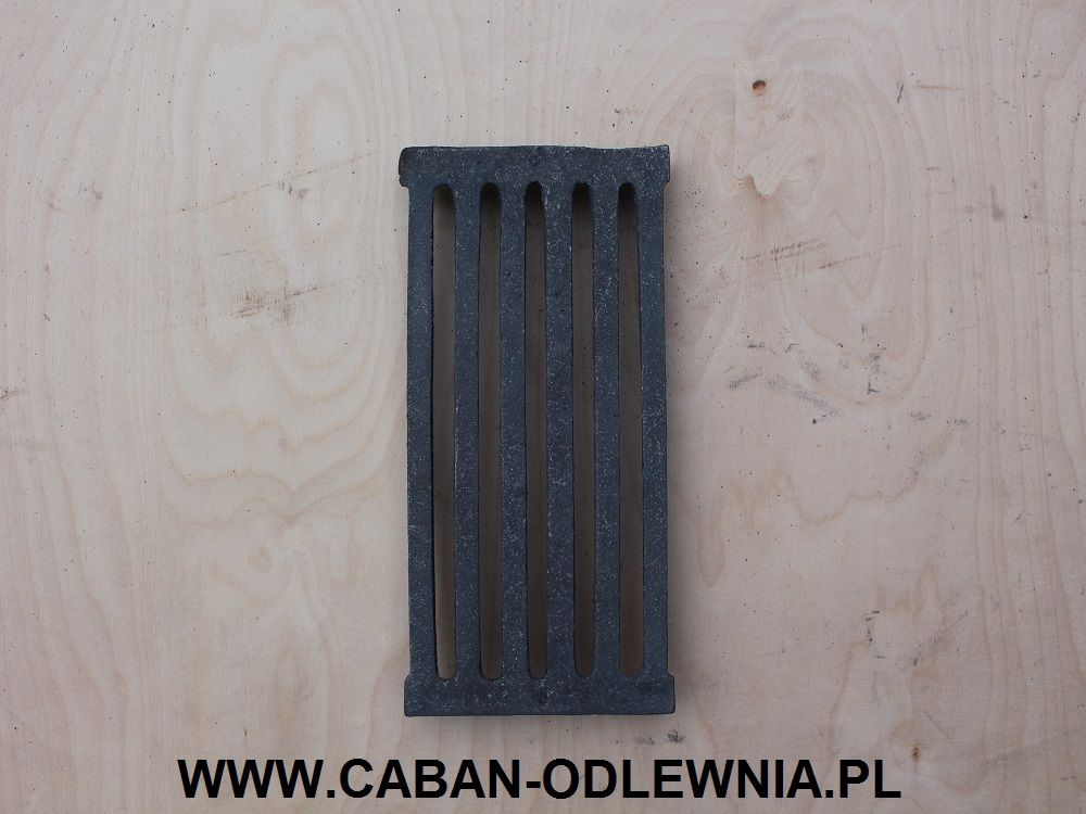 Fireplace plate grates 305 x 145mm