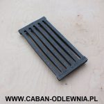 Furnace cast iron grate 305 x 145mm