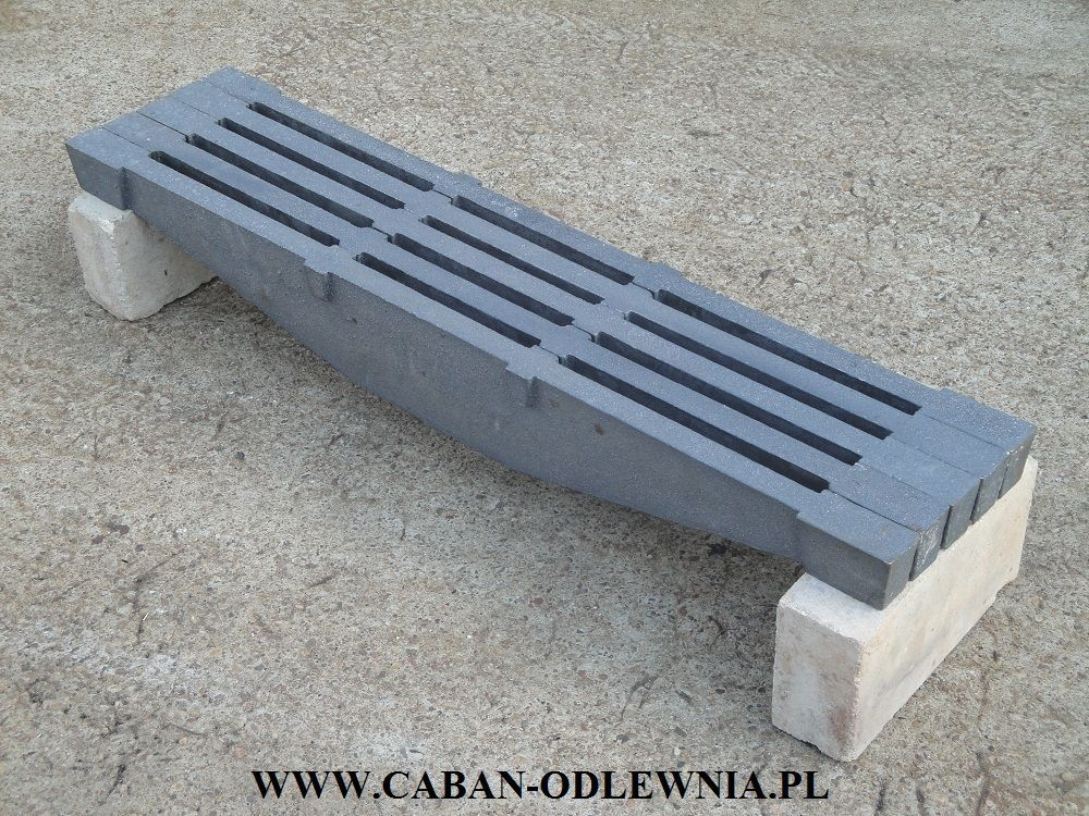 Industrial boiler beam grate 90cm made from cast iron